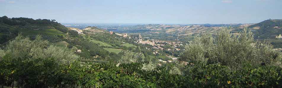 panorama brisighella